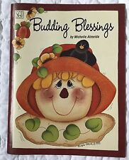 Budding Blessings Michelle Almeida Tole Painting Book Scarecrow Pumpkin Flower