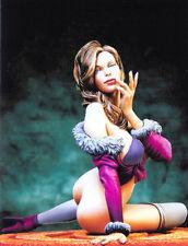 Jessica Fantasy Art Sexy brunette Woman Unpainted Statue Figure Model Resin Kit