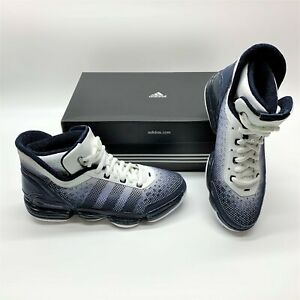 Adidas TS Heat Check Basketball Navy White Casual Sneakers Shoes Womens 7.5