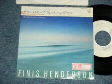 "FINIS HENDERSON Japan 1983 VIPX-1713 WHITE LABEL PROMO 7""45 SKIP TO MY LOU"
