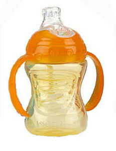 Nuby Step-1 Sippy Cup With Handle No Spill 8oz BPA Free 4+Month Baby Infant NEW