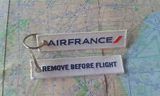Air France airline remove before flight keyring keychain