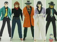 Lupin III 7inch Full Action Figure BANPRESTO - Jigen, Fujiko, Goemon...   Vari