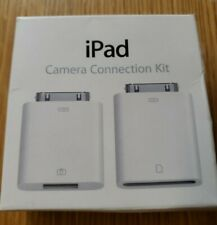 New Open Box Genuine Apple iPad Camera Connection Kit MC531ZM/A (A1362 & A1358)