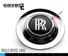 ROLLS ROYCE WRAITH alloy wheel center cap replacement chrome ring trim EASY FIT