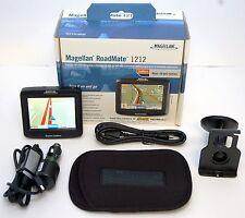 "Magellan RoadMate 1212 Portable Car GPS Navigator System 3.5"" LCD USA/Canada BOX"
