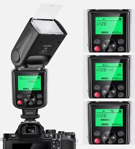 Neewer NW635 TTL GN58 Speedlite Flash for Sony MI Hot Shoe Mirrorless Cameras