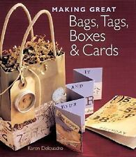 Making Great Bags, TAgs, Boxes & Cards by Karen Delquadro  #17657
