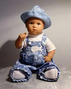 Käthe Kruse Puppe Bade Baby ca 30cm schön erhalten Kunststoff mit Gelenken