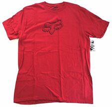 $24 NEW FOX RACING SONIC MEN TEE T SHIRT RED LARGE code H151