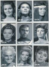 Star Trek TOS 40th Anniversary S3 Portraits Chase Card Set 18 Cards M46-M63