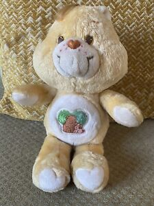 """RARE Vintage Care Bear Forest Friend Tonka 1983 American Greetings Corp 13"""" Size"""