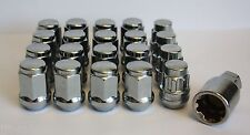 16 X M12 X 1.5 ALLOY WHEEL NUTS & LOCKING FIT HYUNDAI SANTA FE SONICA SONATA