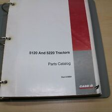 Case 5120 5220 Maxxum Tractor Parts Manual Book Catalog Spare List 8 9064 Farm