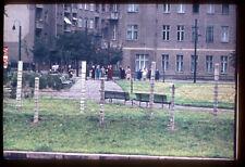 Berlin Wall. Mauer. 1961? Vintage photo slide S714