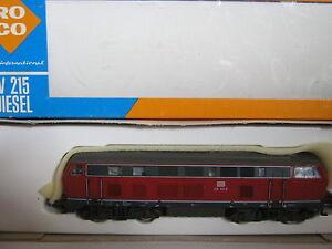 Roco HO 4151 Diesel-Lokomotive BtrNr 215 031-6 DB (RG/BB/45S1/1)