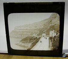 c1900 Tollgate House on Marine Drive ~ Great Orme Glass Lantern Photo Slide
