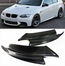 REAL CARBON FIBER FRONT SPLITTER BUMPER LIP SPOILER For BMW E90 E92 E93 M3 07-13