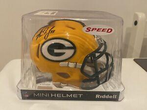 Aaron Jones Signed NFL Mini Helmet
