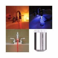 3 Color Water Glow LED Faucet Light Temperature Sensor TR9160