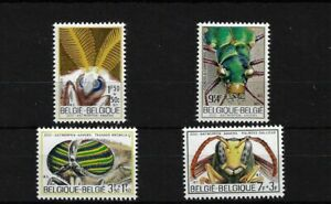 BELGIUM SG2252/5, 1971 INSECTS IN ANTWERP 200 MNH