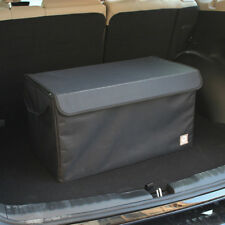 Foldable Multi Compartment Car Auto Organizer Car Storage Basket Box 3Grid Black