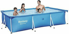 Gartenpool Schwimmbecken BESTWAY Pool mit Gestänge 300 x 201 x 66 Swimmingpool