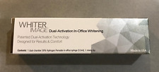 Whiter Image Teeth Whitening Dual Action In Office Whitening System Patient Kit.