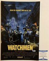 Patrick Wilson Autographed Watchmen 11x17 Poster Signed Nite Owl W/ Beckett COA
