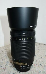 Nikon Nikkor AF 70-300mm f4-5.6 D ED lens for D50 Camera And Above READ!!