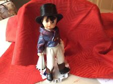 alexander 1991 cu ringmaster doll with hand made stand free ship