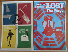 Lost TV series ultra rare 16 piece tipo Print póster set Limited season 1 2 3 4 5