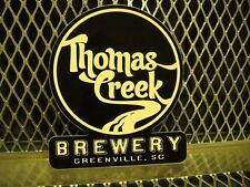 THOMAS CREEK BREWERY Greenville SC ~ Beer Sticker