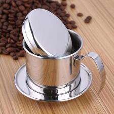 Stainless Steel Coffee Maker Bean Drip Filter Infuser Vietnamese 7.5cm