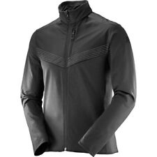 NEW Salomon Pulse Mid Aero Jacket Men Medium Black