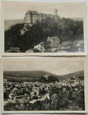 Greiz Ansichtskarten aus Thüringen mit dem Thema Burg & Schloss