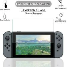 2 x 0.33mm Clear Tempered Glass Screen Protector For Nintendo Switch