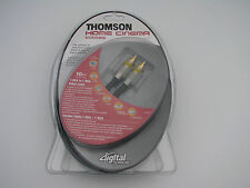 Thomson-KHC014 Cable 24K-Gold 1 RCA to 1 RCA (10m/32,8FT) NEW