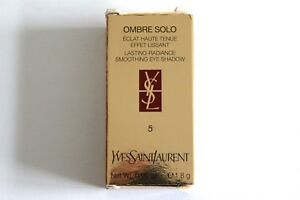 YSL Ombre Solo Lasting-Radiance Smoothing Eye Shadow - Shade: 5 Slate Green