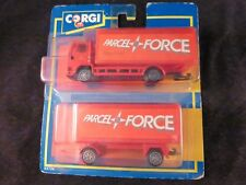 Collectible Corgi Parcel Force Truck and Trailer Set Red Mint Condition Sealed