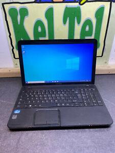 "Toshiba Satellite CHEAP C850 15.6"" Laptop i3 2ND 500GB WINDOWS 10 BLACK WIFI UK"