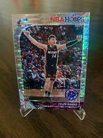 2019-20 NBA Hoops Premium Stock Tyler Herro Silver Prizm Pulsar Rookie Card RC