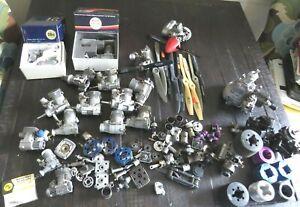 Estate Lot Used 16 RC Engines -Cox, Royal, Kalt Parts or Repair Lot-1 NIB