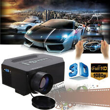 3D Home Theater 1200 Lumens HD HDMI LCD Mini 1080P LED Video Portable Projector