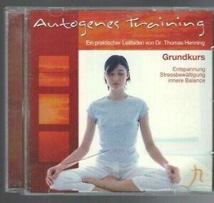 Autogenes Training CD Grundkurs