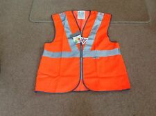 KeepSafe High-Visibility Zip Fronted Waistcoat - Medium - Orange