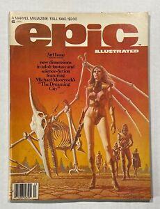 Epic Illustrated #3 1st Full Appearance of Vanth Dreadstar 1980 Marvel Magazine