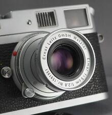 Superb Leitz Leica Elmar 5cm M-mount 2.8 - #1591951 - Built 1958 - Test Pics