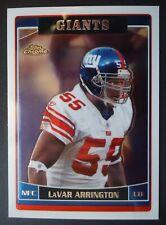 NFL 149 LaVar Arrington New York Giants Topps Chrome 2006