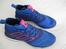 adidas Ace Tango 17.1 Boost Indoor Soccer Football Shoe BB4432 Blue Pink Mens 10